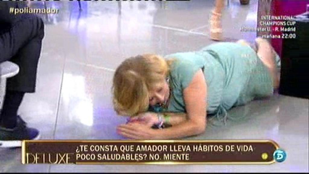 "Mila a Amador: ""Va por ti, vida sana"""