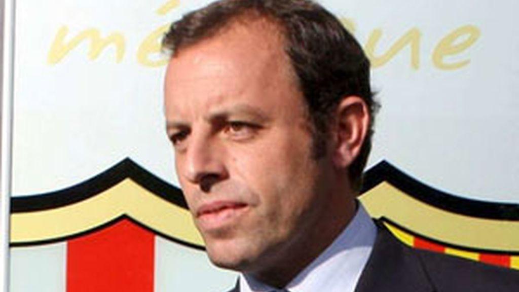 El presidente del Barça amenaza con romper relaciones institucionales con los blancos. Vídeo: Informativos Telecinco