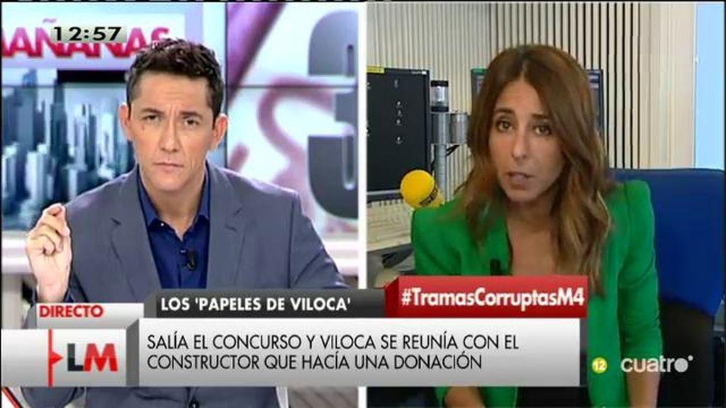 """Ana Terradillos, sobre las 'mordidas' de CiU: """"Hay recibos hasta de 2014"""""""