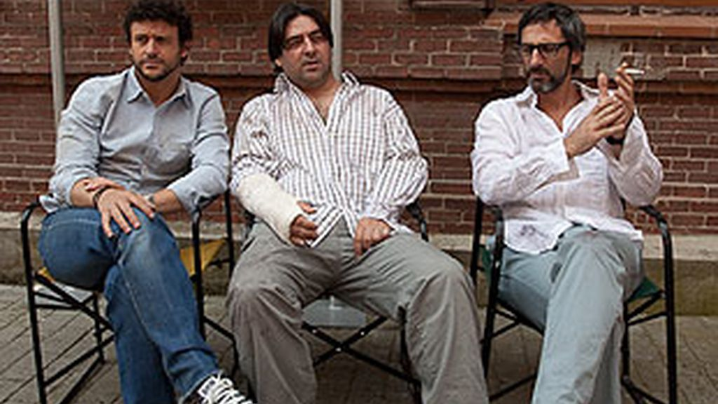 Diego Castelo, Santi Arístegui y Víctor Bonilla