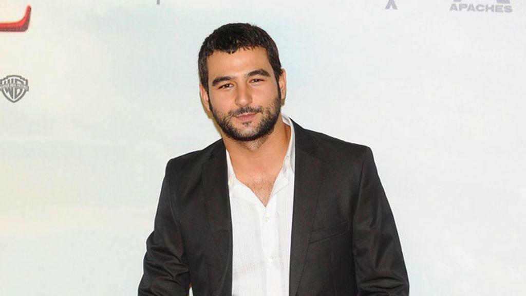 El actor Antonio Velasco no quiso perderse la première de 'Lo imposible'