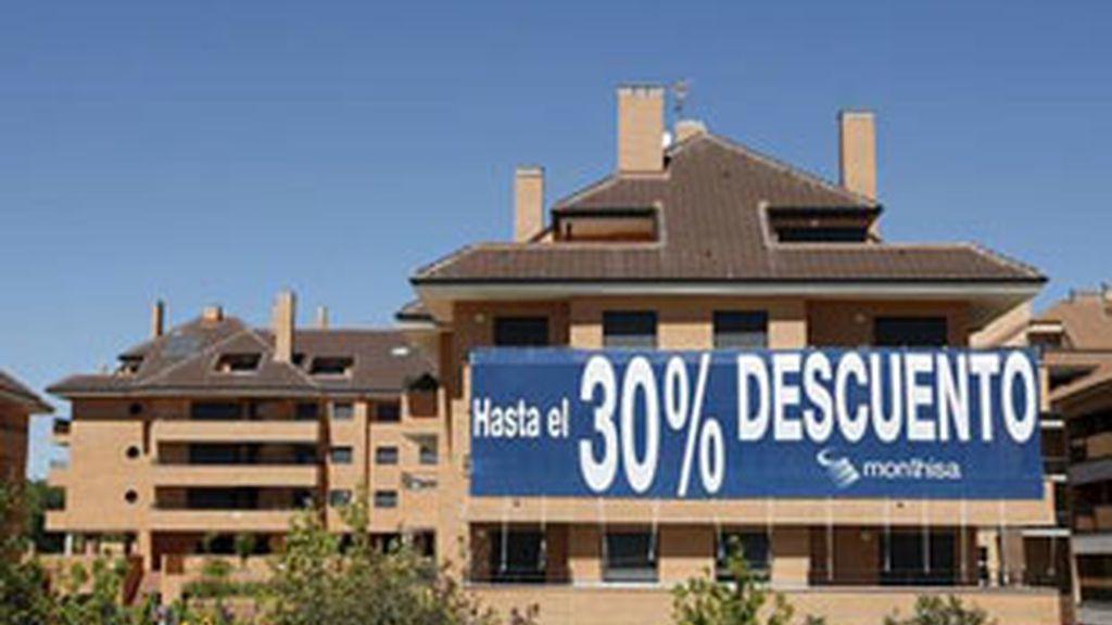 Cae la compraventa de viviendas hasta niveles de 2009.