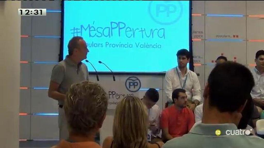 Alberto Fabra anuncia su marcha del PP de la Comunidad Valenciana