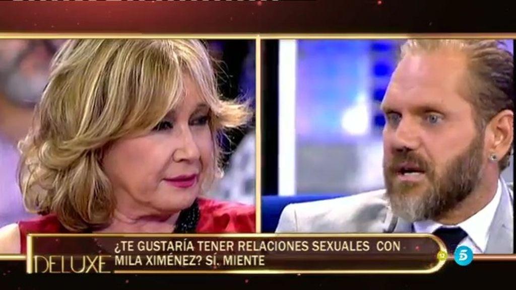 ¿Tendría Nacho Vidal relaciones sexuales con Mila Ximénez?