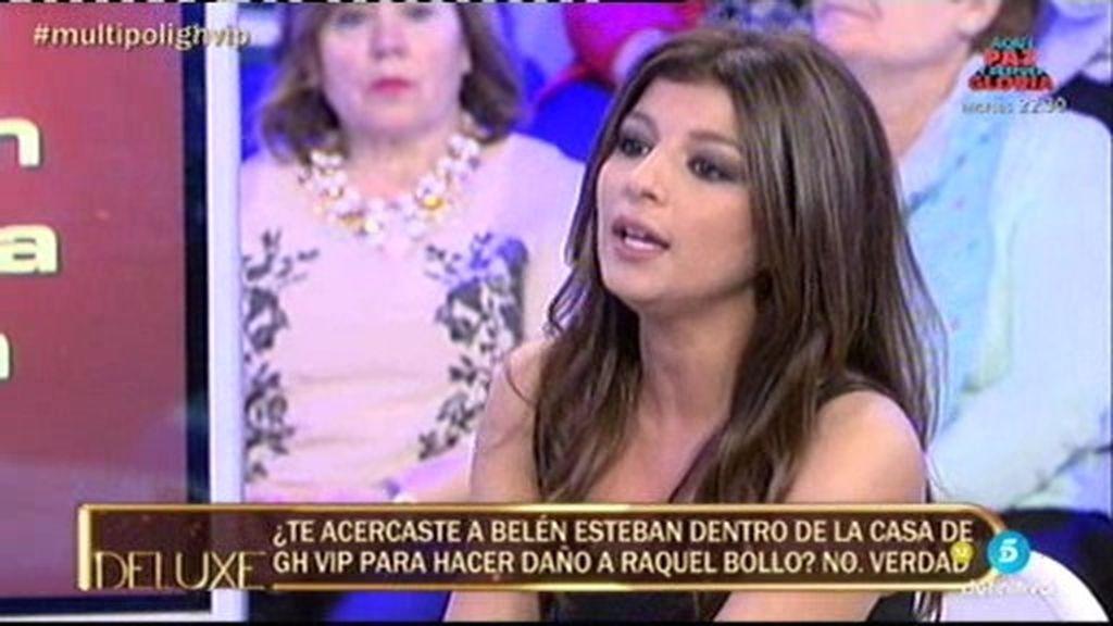 """Aguasantas: """"No me acerqué a Belén para hacer daño a Raquel Bollo"""""""