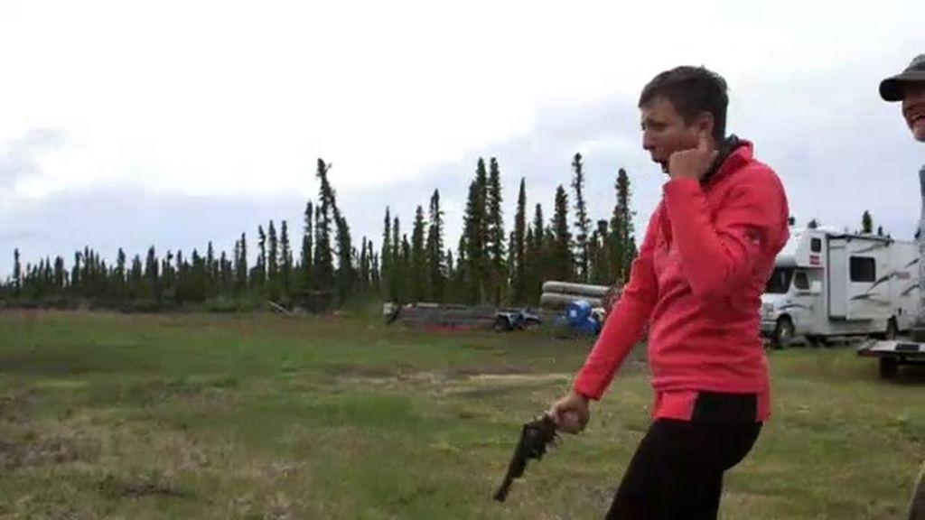 """Eva Hache: """"No me ha gustado nada disparar un revólver"""""""