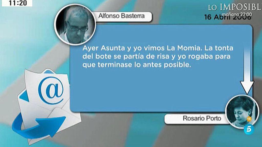 Triki, tonta del bote y pelma: así se refería Alfonso Basterra a Asunta