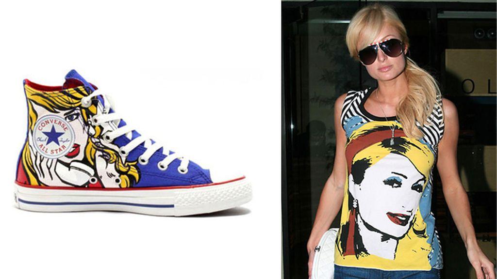 La influencia de Lichtenstein y Warhol