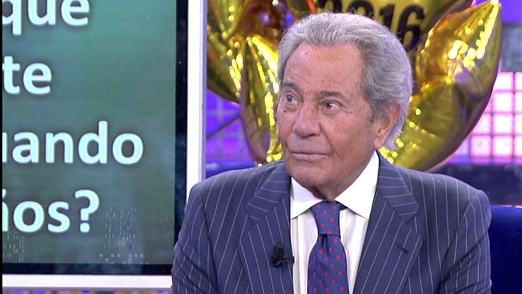 """Arturo Fernández, sobre su padre: """"Huyó de España porque era de izquierdas"""""""