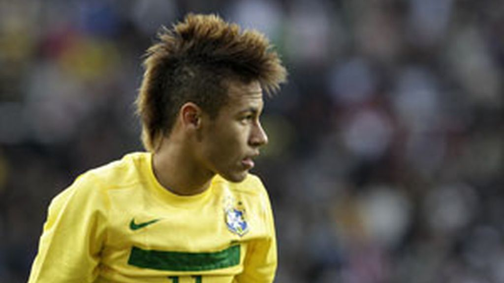 Neymar durante un partido de la Copa América con la selección brasileña. Foto: GTres