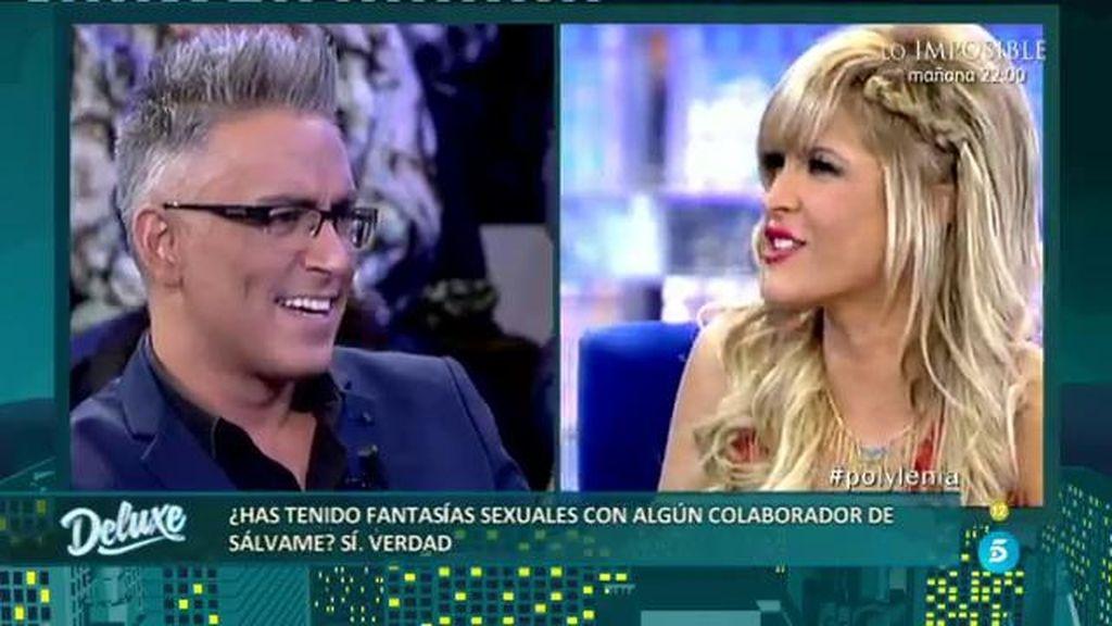 Ylenia reconoce en el PoliDeluxe que ha tenido sueños eróticos  con Kiko Hernández