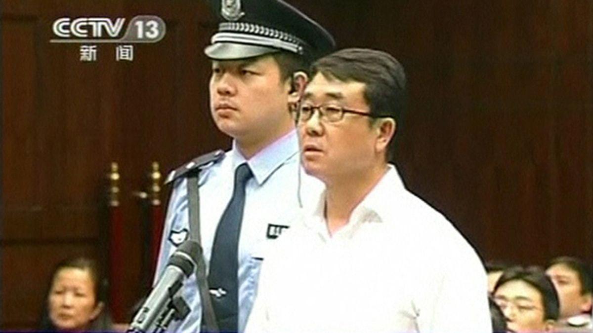 Wang lijun, condenado a 15 años de cárcel
