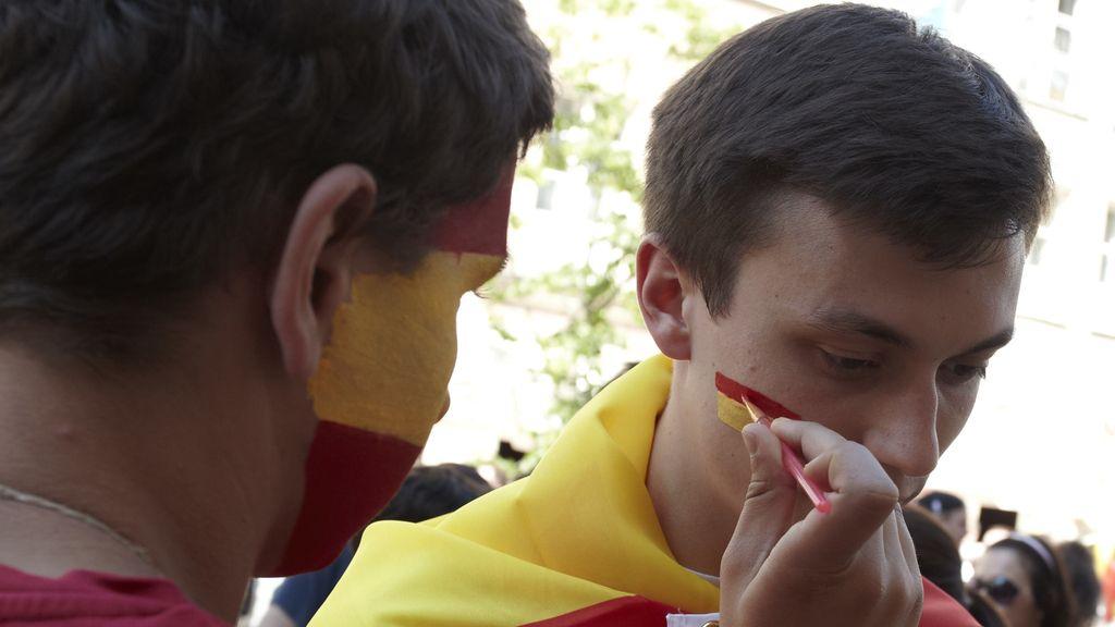 """""""El rojo"""" y """"el arlequín"""" ya pueblan Gdansk"""