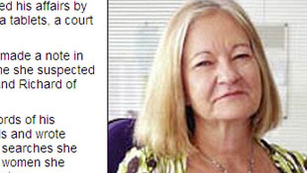 Mató a su marido tras descubrir sus continuas infidelidades. Foto: Daily Mail.