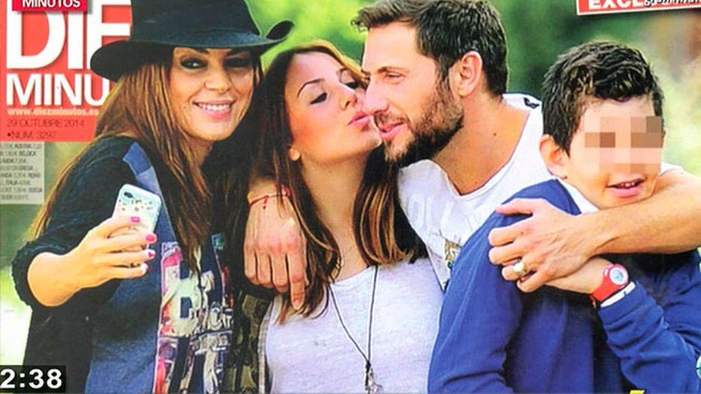 Rocío Flores Carrasco celebra su mayoría de edad con su padre, sus hermanos y Olga