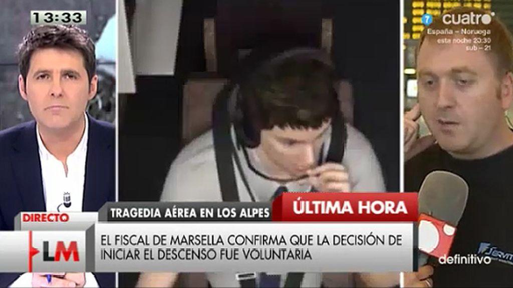"""Miguel Martín: """"La puerta se puede bloquear físicamente desde dentro"""""""