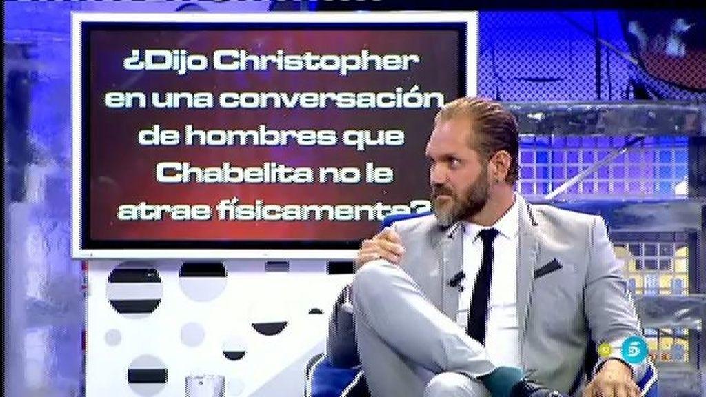 ¿Ha presenciado Nacho Vidal momentos íntimos entre Chabelita y Christopher?