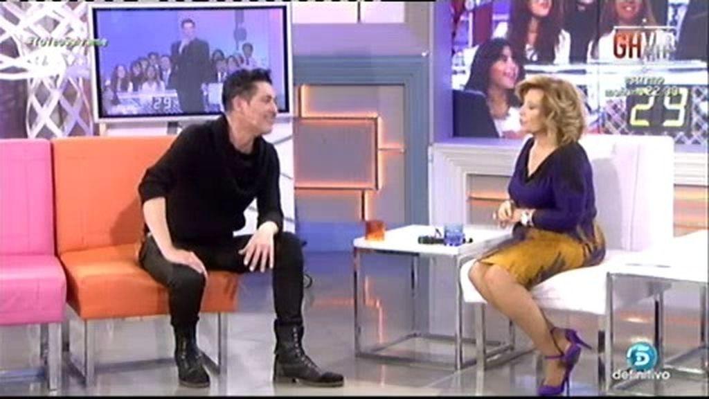 Ángel Garó reaparece en televisión en '¡Qué tiempo tan feliz!'