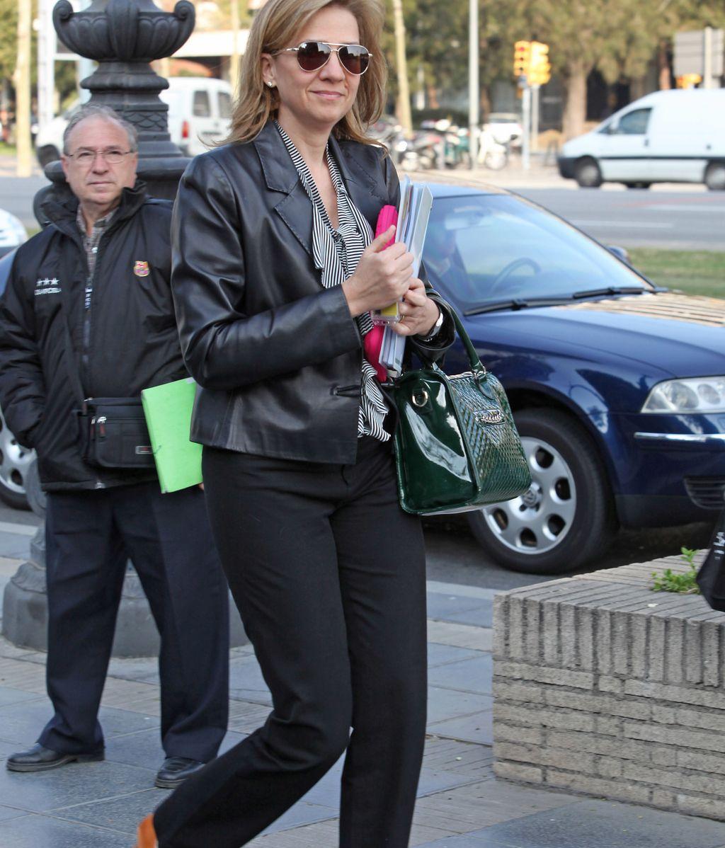 La Infanta Cristina, en Barcelona