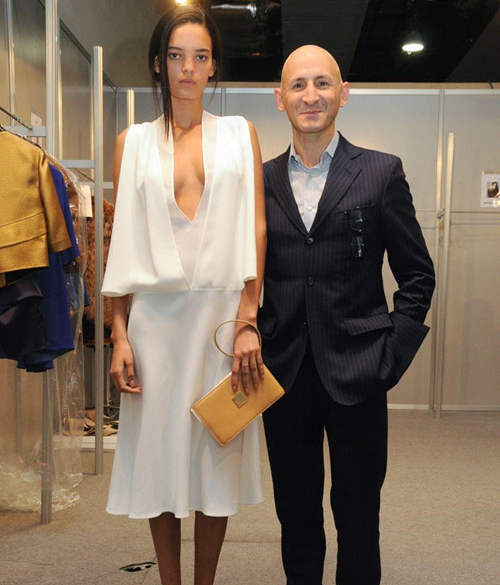 Así diseñó Modesto Lomba su vestido para Gossip Girl
