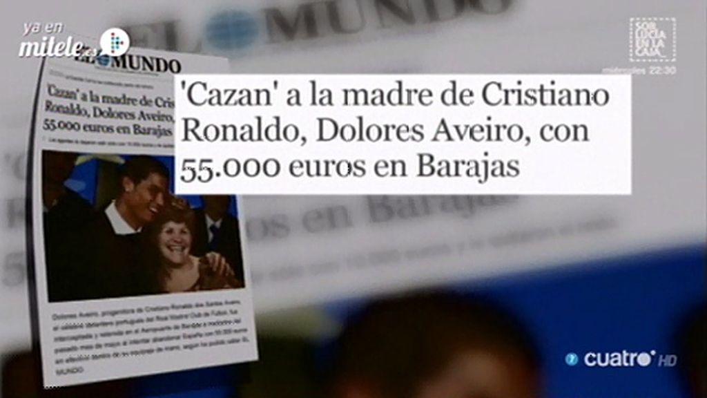 'Cazan' a la madre de Cristiano Ronaldo con 55.000 euros, según 'El Mundo'