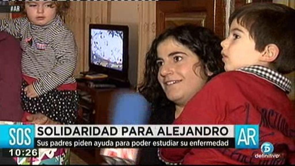 Ayuda a Alejandro: Sufre una grave enfermedad llamada Síndrome de Cach