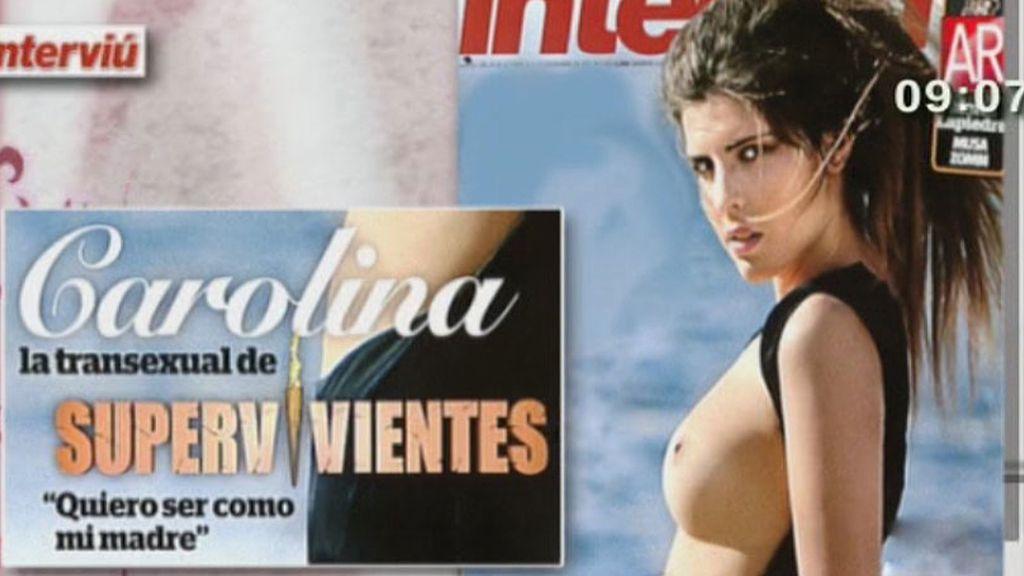 Carolina Córdoba, en 'interviú'