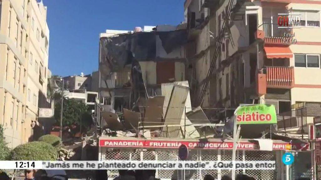 Al menos dos fallecidos en un derrumbe de un edificio en Arona, Tenerife
