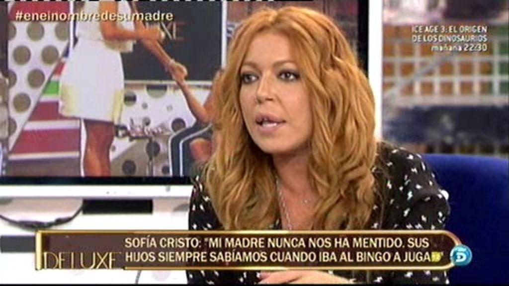 """Sofía Cristo, sobre Bárbara Rey: """"A veces no ha estado a la altura como madre"""""""