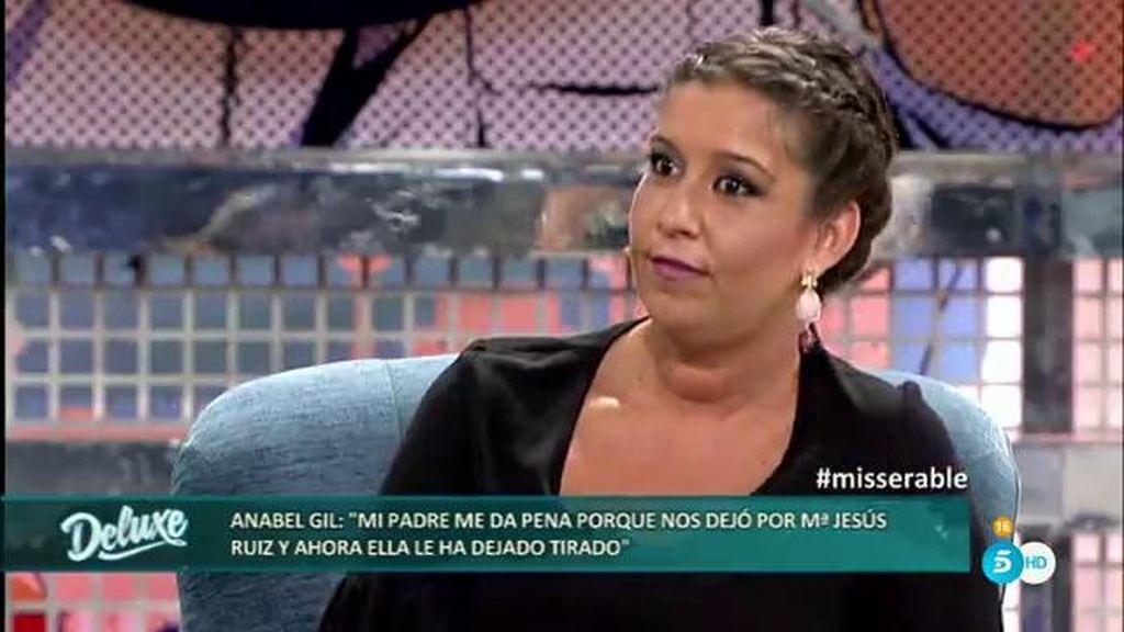 """Anabel, sobre Mª Jesús Ruíz: """"Se desnudaba ante un amigo de mi padre en su casa"""""""