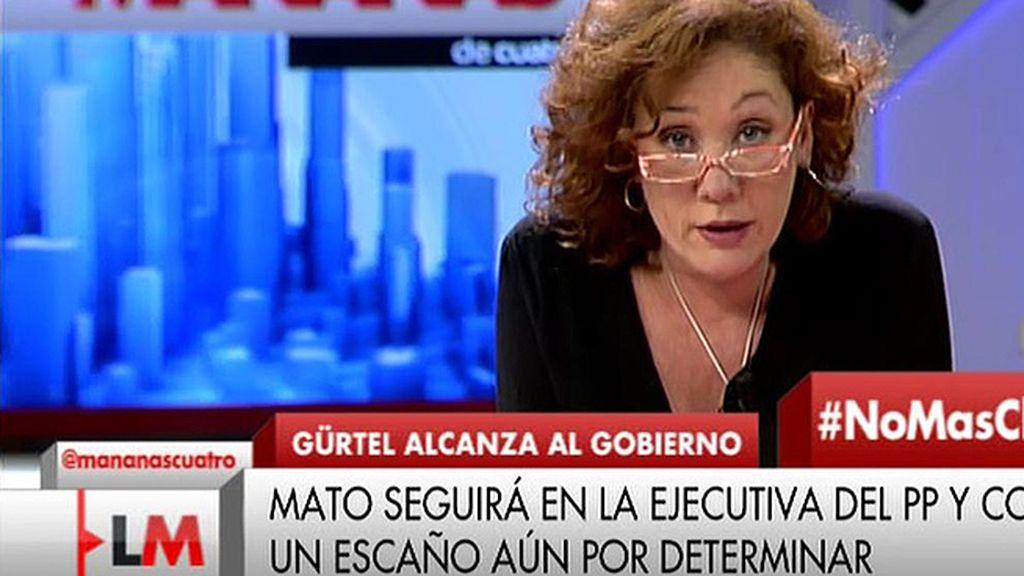La carta de Cristina Fallarás a Rajoy