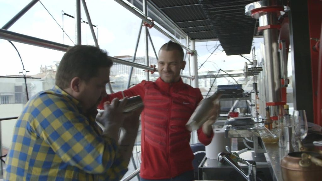 """Dabiz Muñoz  se viene arriba: """"¡Esto es cocina hecha cocktail!"""""""