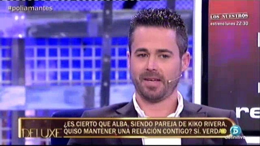 """Ismael: """"Alba quería estar conmigo mientras era pareja de Kiko Rivera"""""""