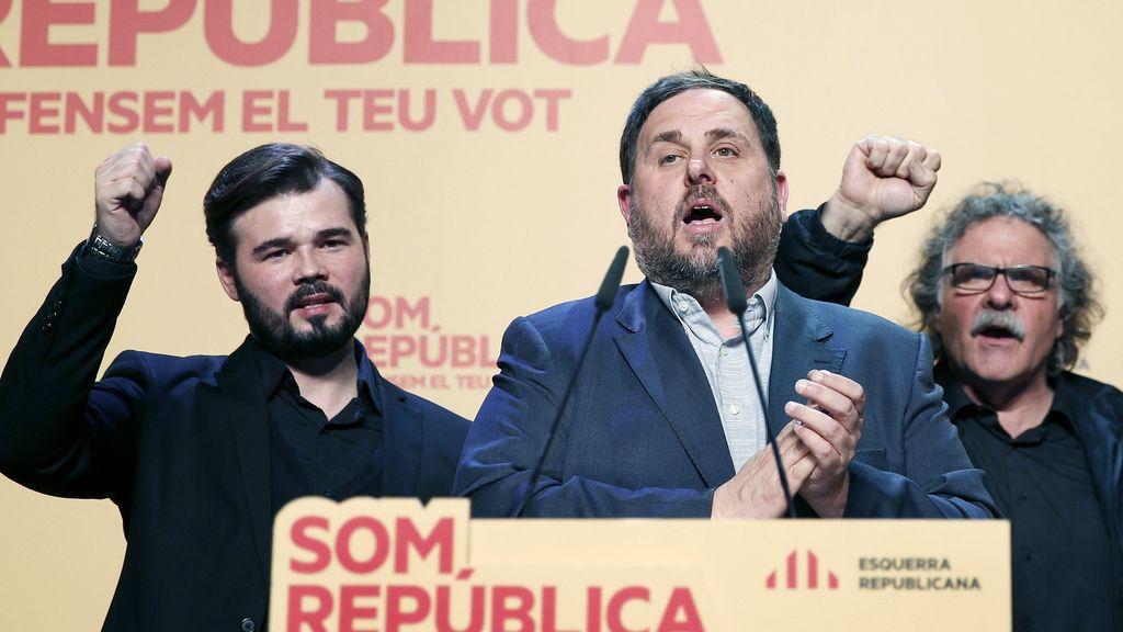"""ERC: """"Esperamos con los brazos abiertos a Podemos"""""""
