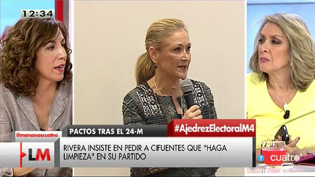"""Irene Lozano: """"La cuestión va más allá de dimisiones concretas"""""""