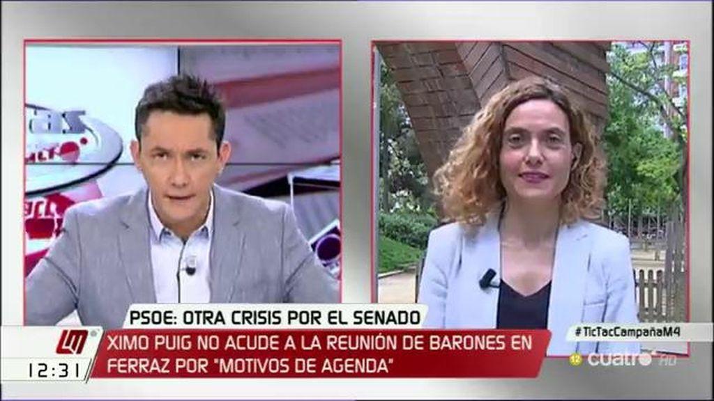 """Meritxell Batet: """"La propuesta de Podemos es pura táctica a dos días del plazo"""""""