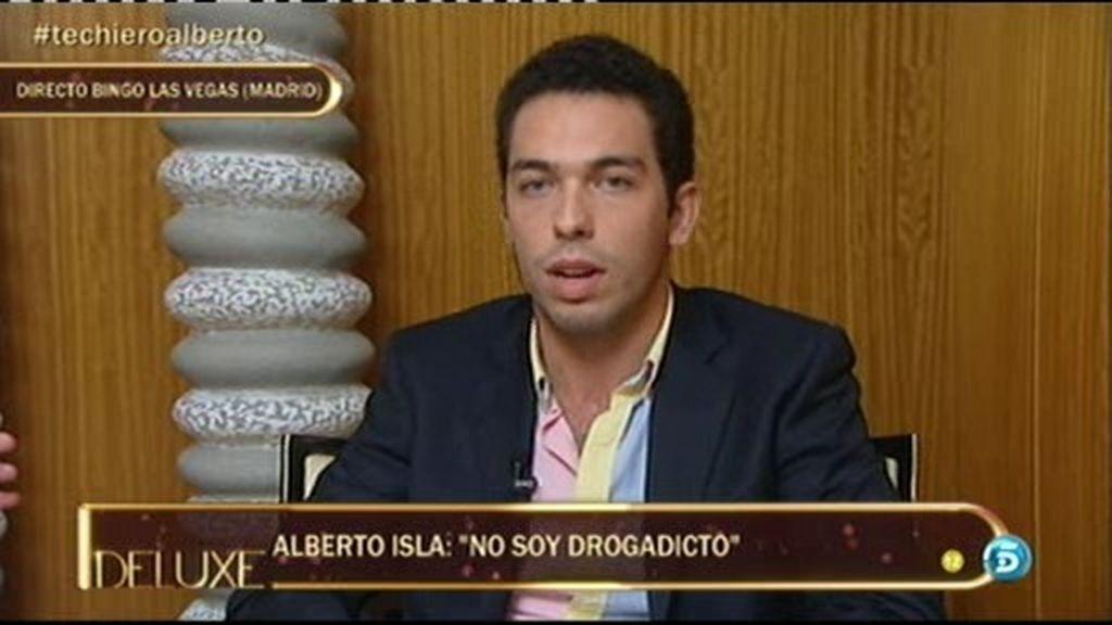 """Alberto Isla: """"No soy drogadicto, si me tocan la moral diré quién me ofrecía droga"""""""