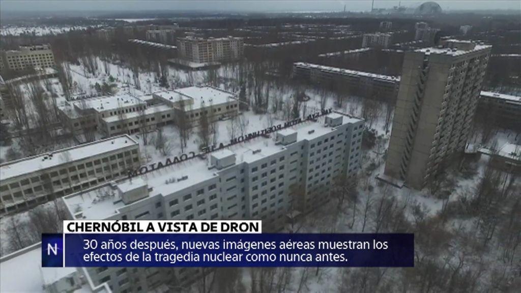 Nuevas imágenes de Chernóbil o la desintoxicación digital… noticias de la semana