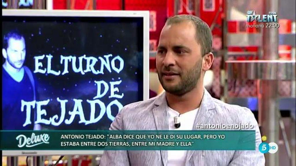 Antonio Tejado asegura que Alba no fue la culpable de que él se separara de su familia