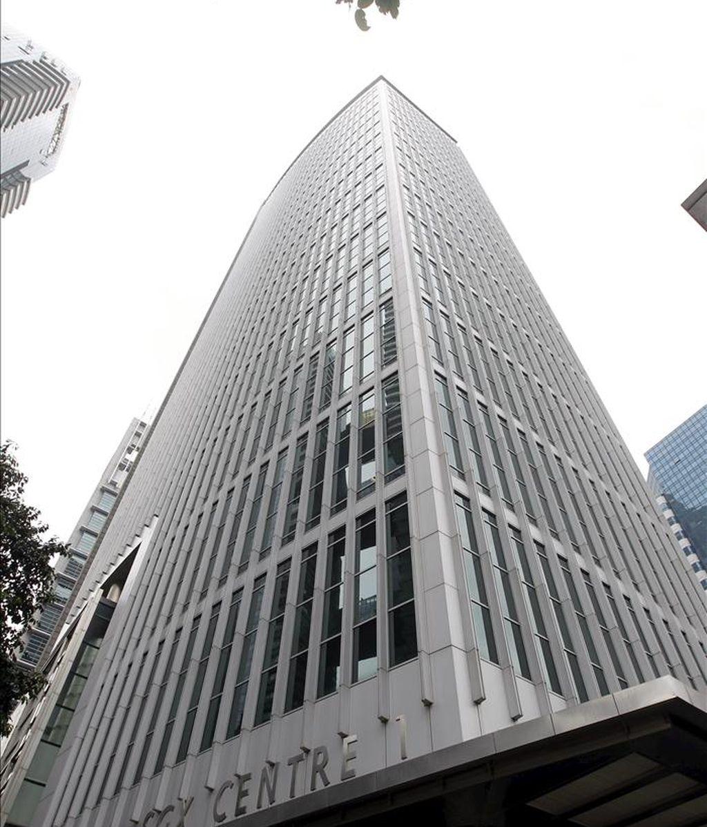 Vista del edificio de la Bolsa en Singapur. EFE/Archivo