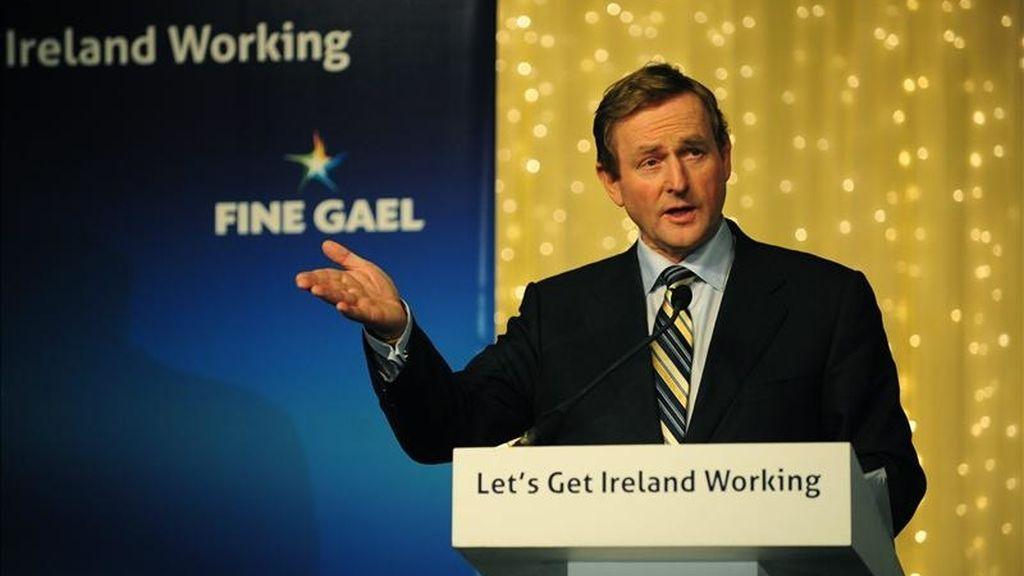 El primer ministro de Irlanda, Enda Kenny. EFE/Archivo
