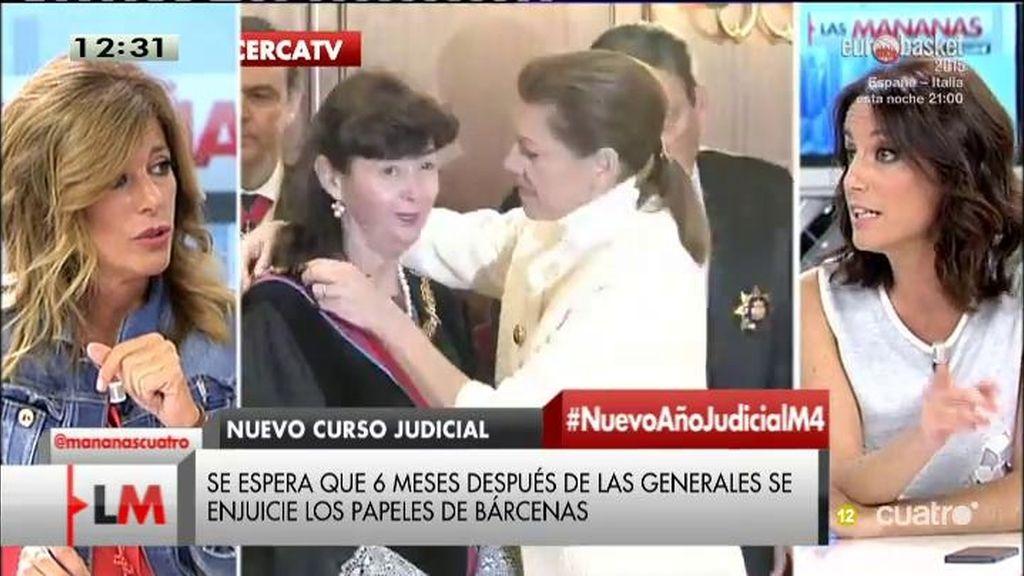 """Andrea Levy: """"España es un país con independencia judicial"""""""