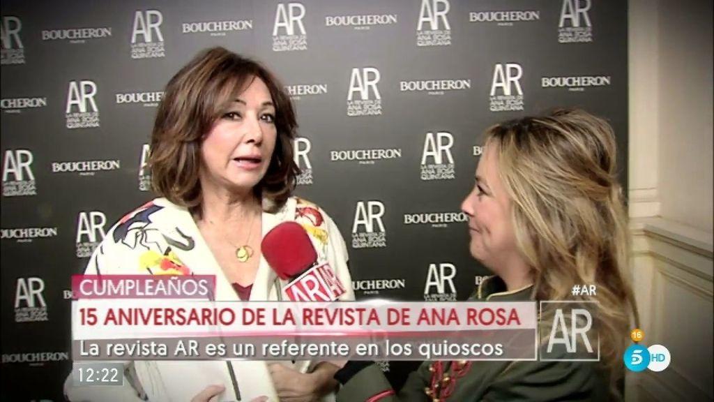 La revista de Ana Rosa celebra su 15 aniversario rodeada de caras conocidas