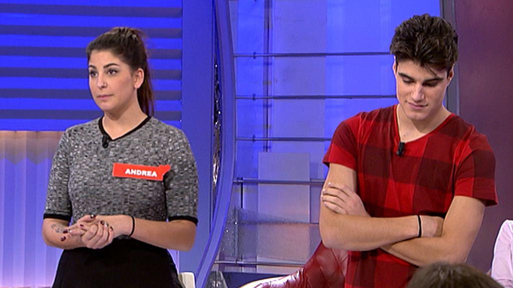 "Andrea: ""No iba a venir, pero quería defenderme de Paola"""