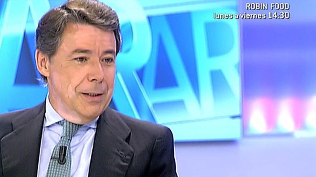 """I. González, sobre Cataluña: """"Muchos de los problemas que hay detrás de este debate son falsos"""""""