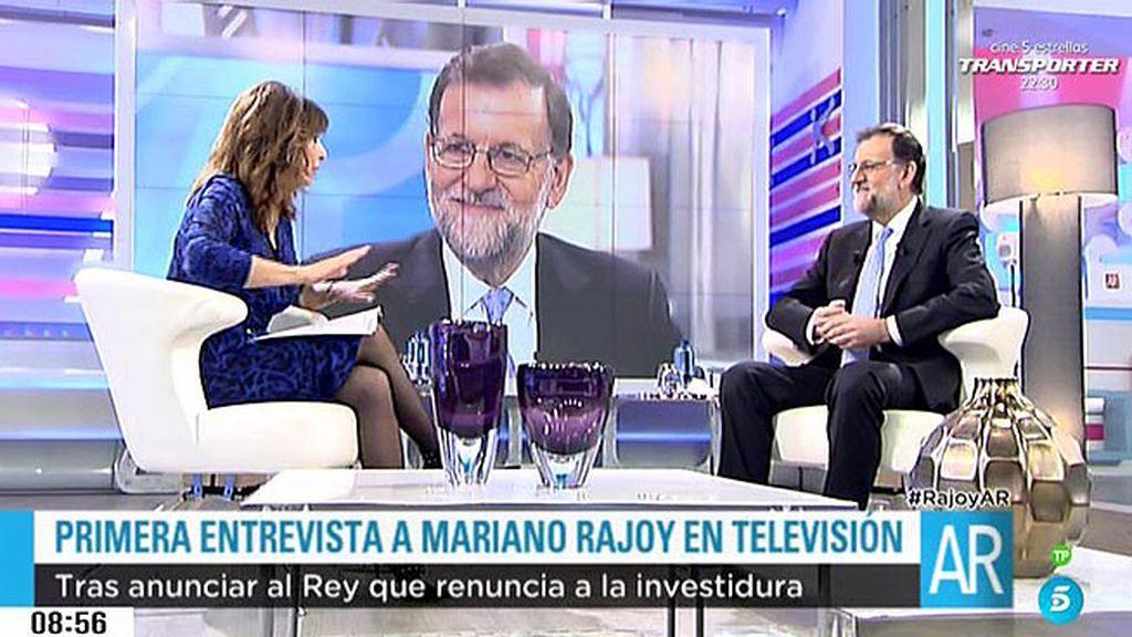 """Rajoy, sobre su próxima consulta con Felipe VI: """"Permítame que no vaya contando por todas partes lo que le voy a decir"""""""