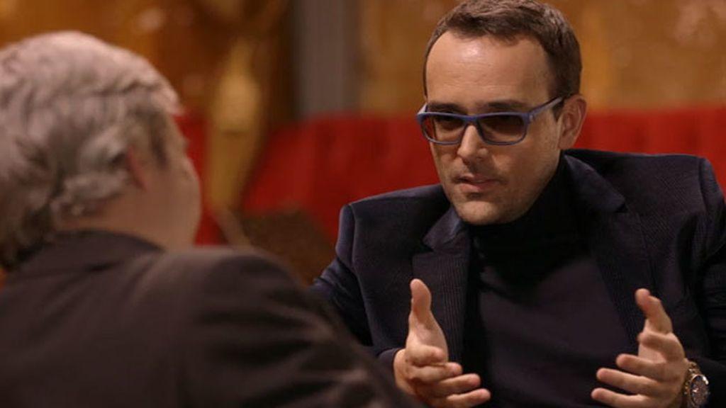 """Risto, a Alberto San Juan: """"No quería hacerte un chester, no te lo mereces"""""""
