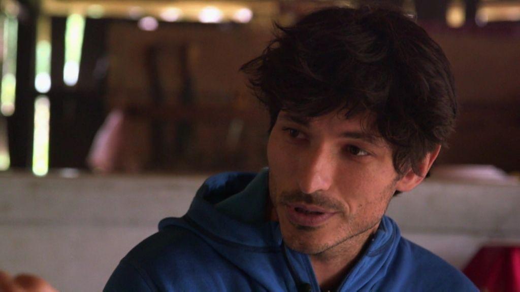"""Andrés Velencoso: """"Si no te crees que eres guapo como modelo, deja éste trabajo"""""""