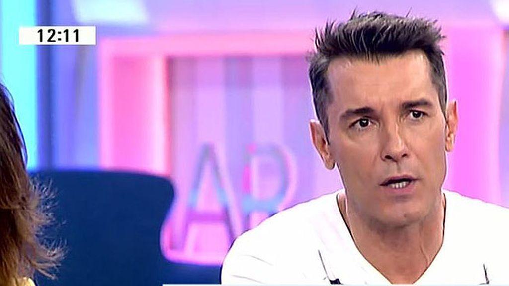 "Jesús Vázquez: ""He enviado un mensaje a Belén, esto es un batacazo emocional"""