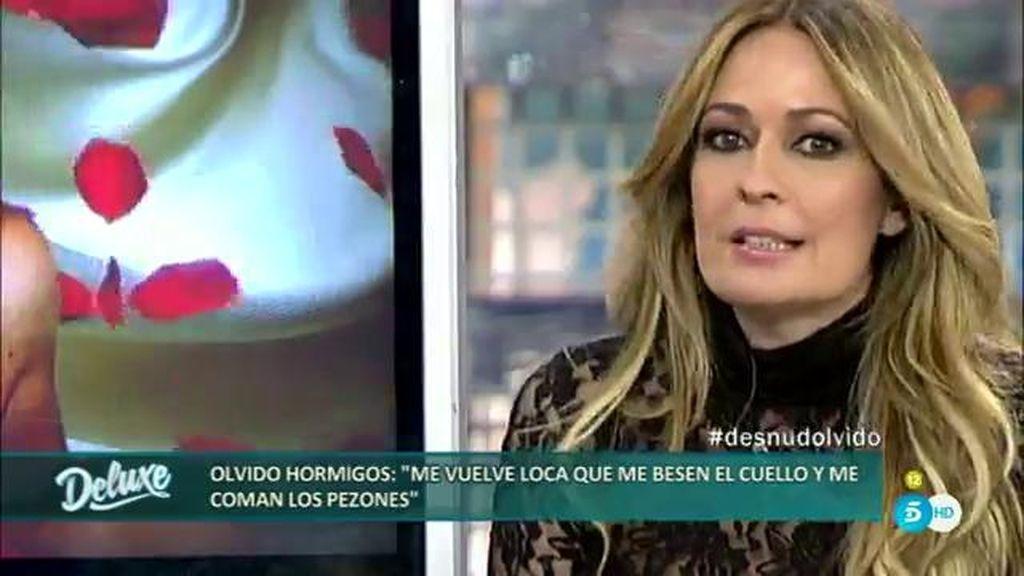 """Olvido Hormigos: """"Belén Esteban se ha propuesto hacerle la vida imposible"""""""